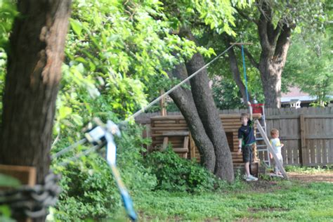 backyard zip line for 171 the trailhead