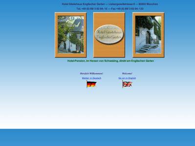 Englischer Garten München Fahrradverleih by Hotelverzeichnis Fair Hotels Hotel G 228 Stehaus Englischer