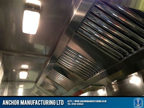 kitchen canopy lights industrial sized kitchen canopy with bulkhead lighting