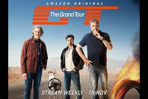 The Grand Tour quot the grand tour quot trailer with clarkson hammond and may