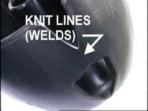 knit line knit lines