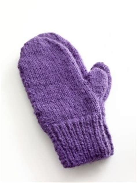 free easy knitting mittens patterns for 2 needles easy knit mittens pattern yarns for and purple mittens