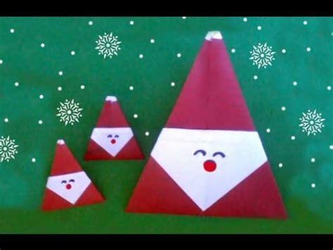 santa for easy origami santa claus diff 3 10 折り紙サンタクロース