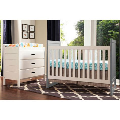 baby mod modena crib baby mod modena mod 2 tone 3 in 1 fixed side convertible