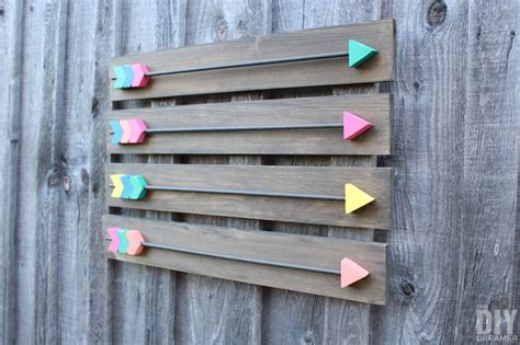 Home Decor Art Trends arrow wall decor diy wood arrows wall art
