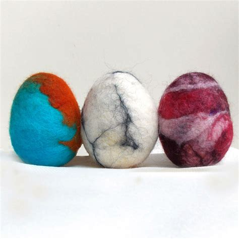 wool craft ideas for felted easter eggs family crafts