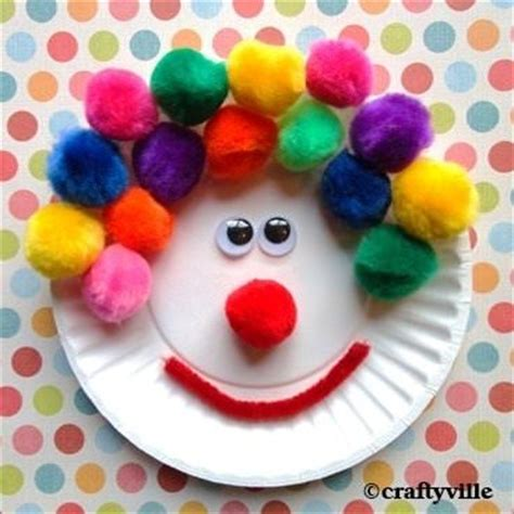 paper plate clown craft 34 amazing paper plate crafts for tip junkie