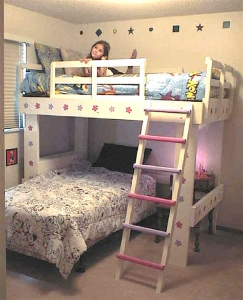 how to build a loft bunk bed building a bunk bed