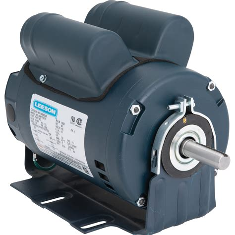 1 2 Electric Motor by Leeson Instant Reversing Electric Motor 1 2 Hp 1625 Rpm