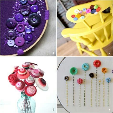 button craft ideas for button ideas arts and crafts