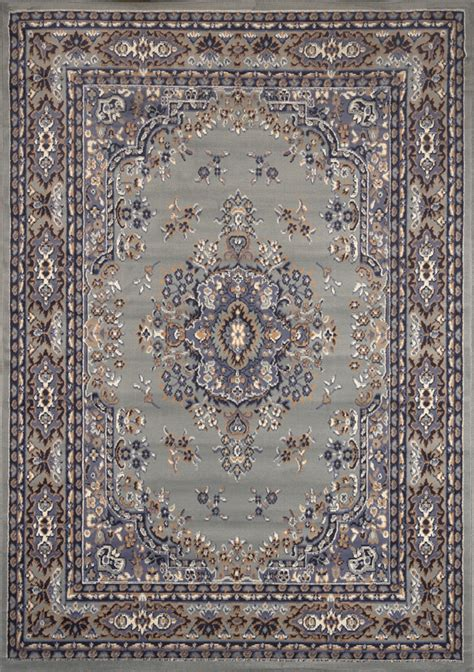 Large Turkish Rugs by Traditional Persian Silver Area Rug Border Oriental Multi