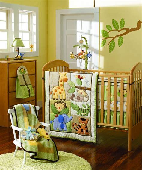 safari nursery bedding sets giraffe elephants monkeys jungle animals boy baby crib