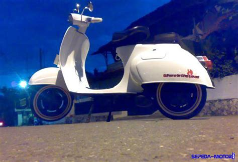 Modifikasi Vespa Pts 100 by Vespa Pts 90cc Info Sepeda Motor