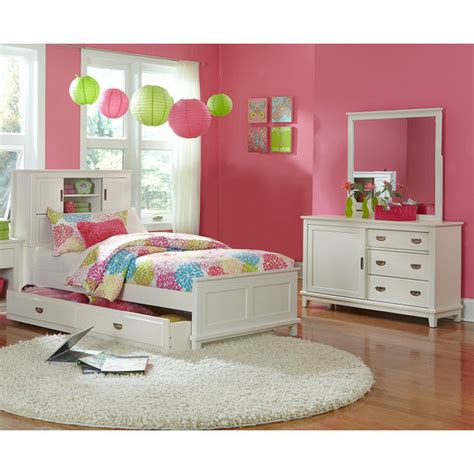 childrens bedroom furniture packages chadwick 5 bookcase bedroom package white