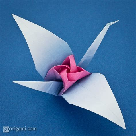 one origami free coloring pages origami tsuru by satoshi kamiya