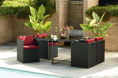 small patio furniture sets small space patio furniture sets for home decor ideas