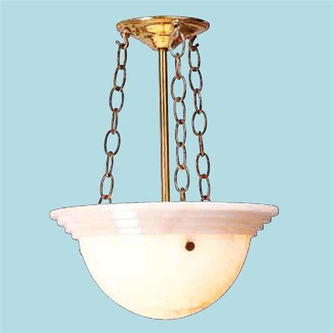 alabaster chandeliers solid brass alabaster bowl chandelier antique brass