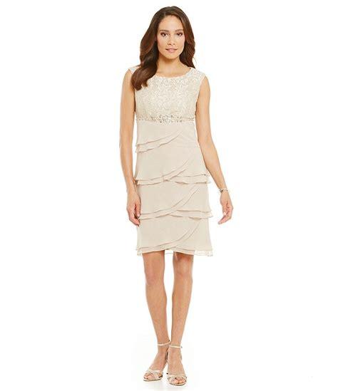 beaded empire waist dress howard beaded empire waist tiered dress dillards