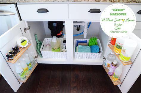 organizing the kitchen sink kitchen organizing