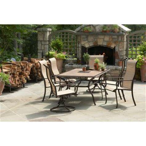 martha stewart patio dining set martha stewart living cardona 7 patio dining set