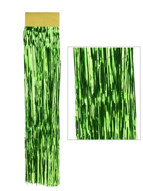 tinsel strands tree emerald green lametta tinsel icicles 300 strands