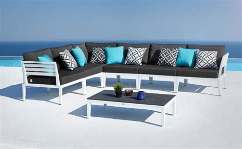 lounge outdoor furniture modern outdoor lounge furniture set joins oceanweave