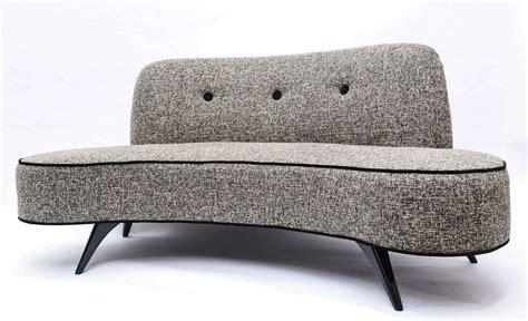 kidney shaped sofa mid century kidney shaped sofa at 1stdibs