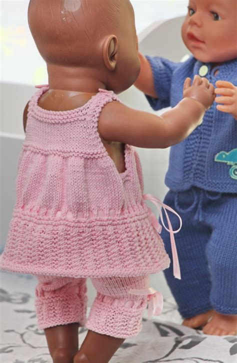 knitted doll clothes patterns free baby dolls clothes knitting patterns