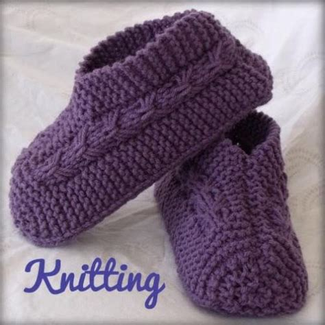 how to knit booties for adults kweenbee and me learn to knit bootie slippers