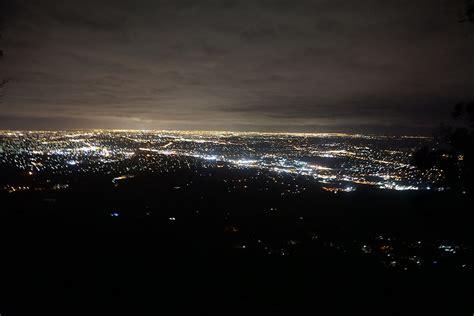 mt lights mt dandenong lookout melbourne