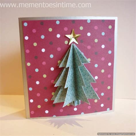how to make a 3d tree card card ideas mementoes in time
