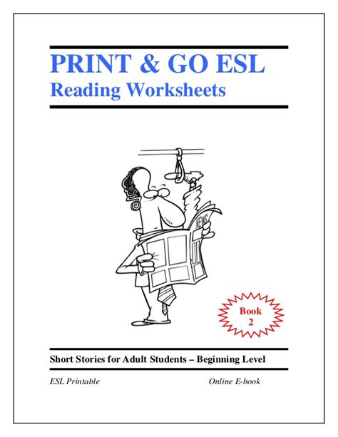 esl picture books esl worksheets book 2 stories for students