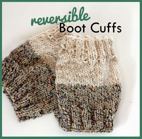 boot cuff knit pattern warm knitted boot cuff patterns for fall