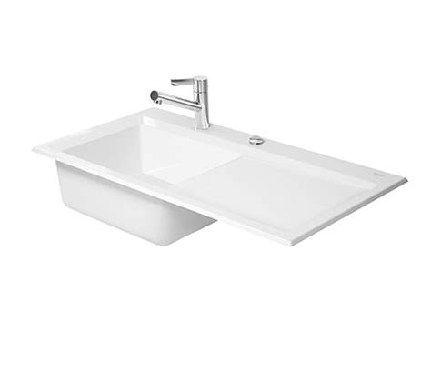 flush mount kitchen sinks duravit kiora 50 flush mount kitchen sink 7517900027