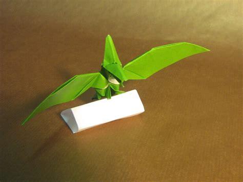 pterodactyl origami origami pterodactyl pteranodon 1 by aarrnnoo0123 on