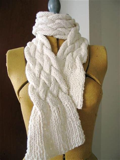 knit braid pattern 25 best ideas about braid scarf on scarf