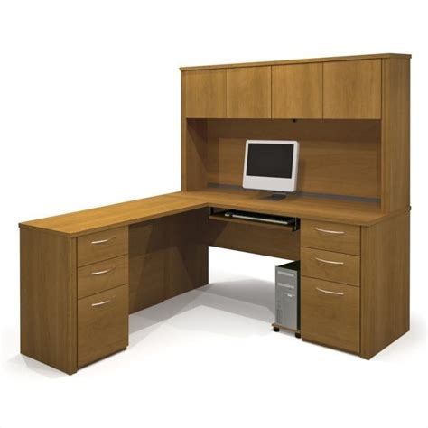 l computer desk with hutch computer desk home office workstation table l shape wood