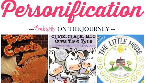 personification picture books teaching personification with picture books