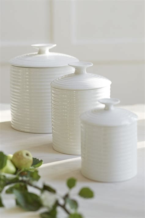 white kitchen canister set kitchen canisters ceramic sets gallery also decorative