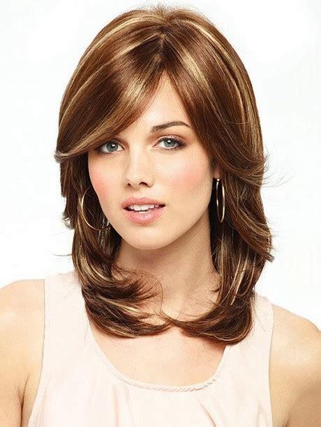 medium length hairstyles medium length layered haircuts 2017