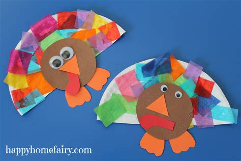 easy thanksgiving crafts easy turkey craft happy home