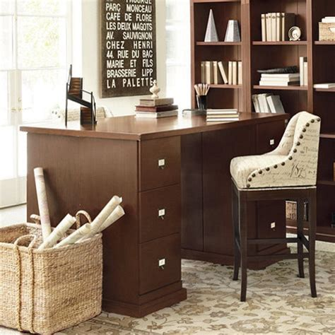 partner desk home office original home office project height partners desk