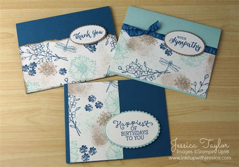 card techniques for beginners layering ovals framelits ink it up with card