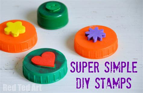 simple craft bottle top crafts simple diy sts ted s