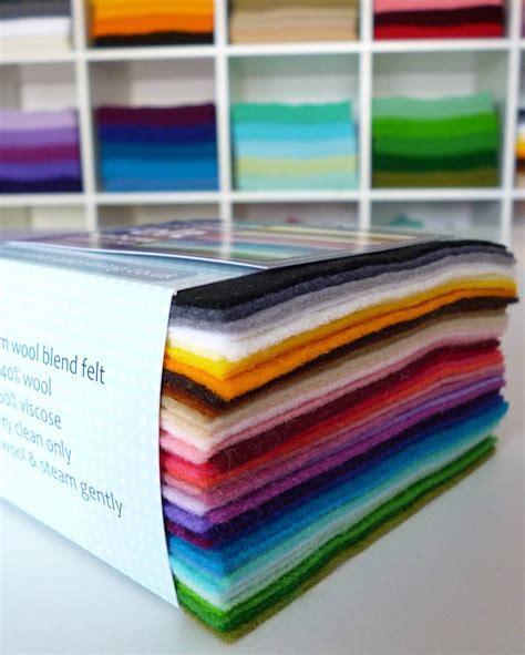 craft felt paper multicoloured pack of premium craft felt by paper and