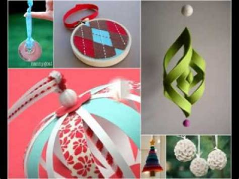 simple tree decorations simple diy tree decorations ideas