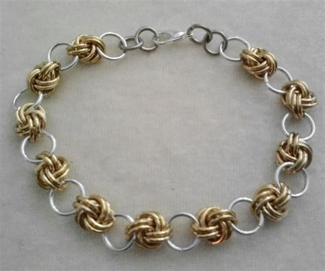 beaded chainmaille jewelry patterns free chainmail patterns chain maille knot chain