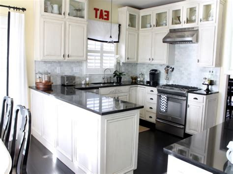 black kitchen cabinets with black appliances modern style antique white kitchen cabinets with black