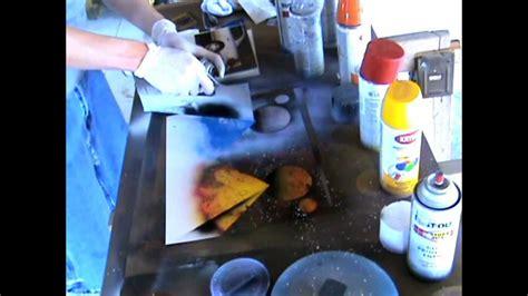 spray paint tutorial spray paint tutorial colorful pyramids