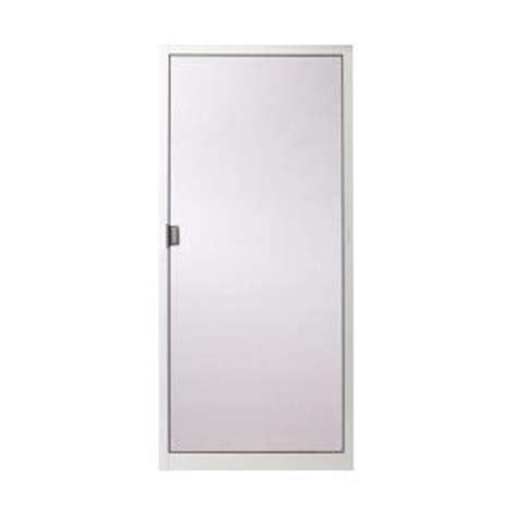 sliding patio screen doors home depot andersen 36 in x 78 in 400 series white aluminum sliding patio door insect screen 2565308
